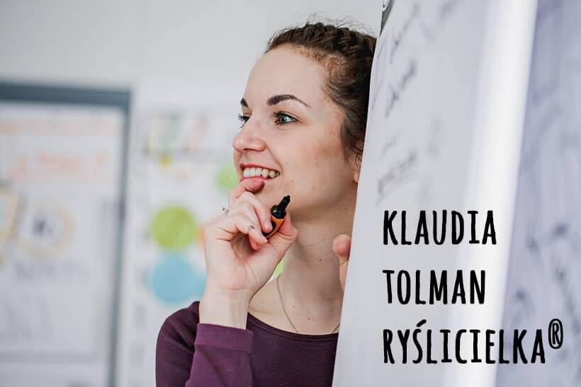 Klaudia Tolman Myślenie Wizualne Graphic Recording Ryslicielka