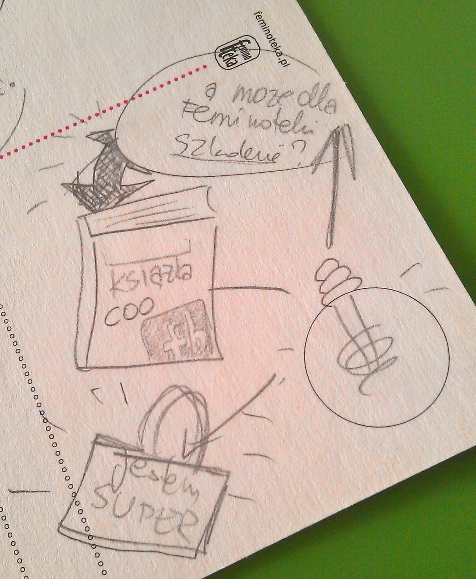 Feminoteka - moje rysunkowe notatki na szybko