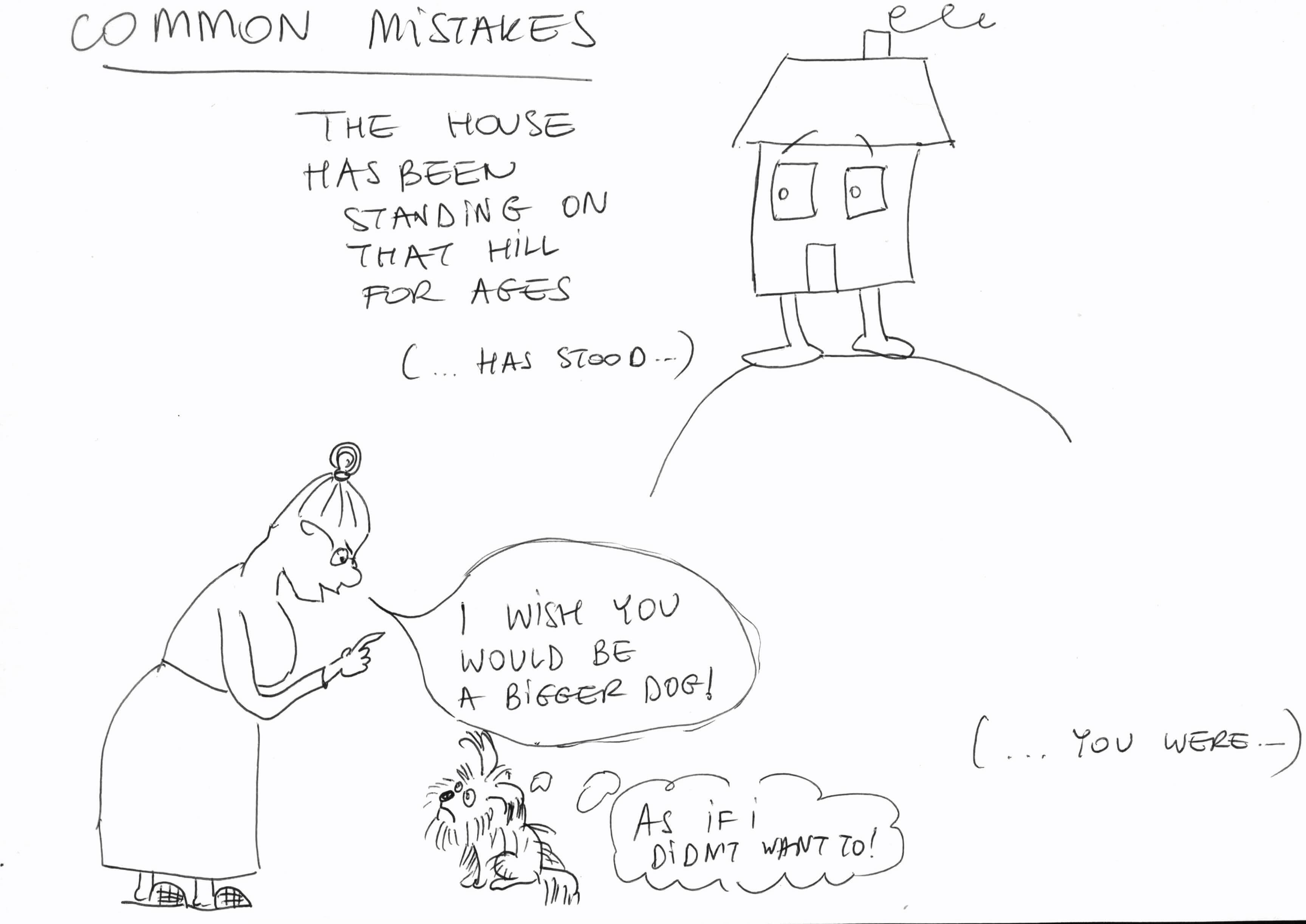 Ania śliwa - przyklad rysunkowego angielskiego