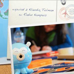 Wywiad wRadiu Kampus – myślenie wizualne ustudentów