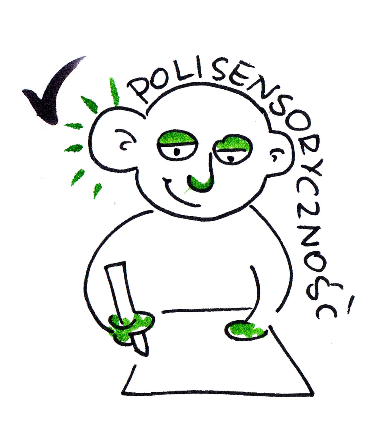 5. polisensorycznosc rysowania klaudia tolman