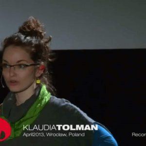 Klaudia-Tolman-on-TEDxWroclaw
